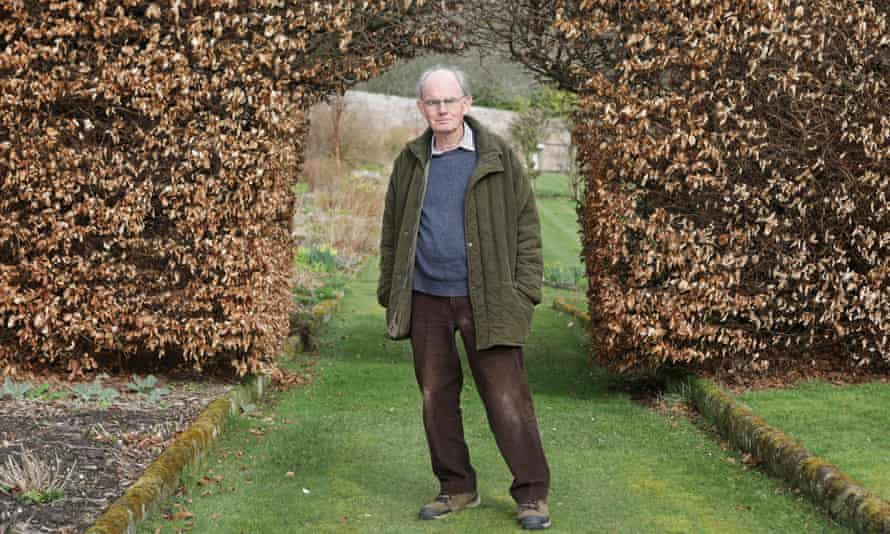 Former Labour MP Chris Mullins at home in Northumberland.