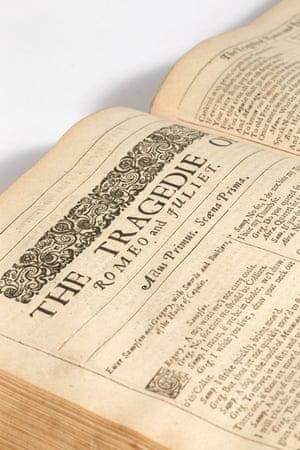 Pierre Bergé's rare Shakespeare volume
