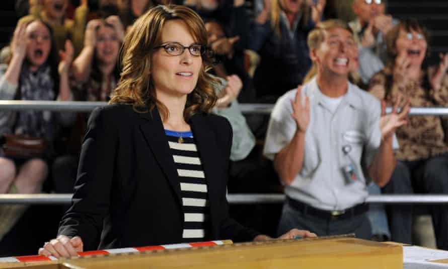Tina Fey plays TV showrunner Liz Lemon in 30 Rock
