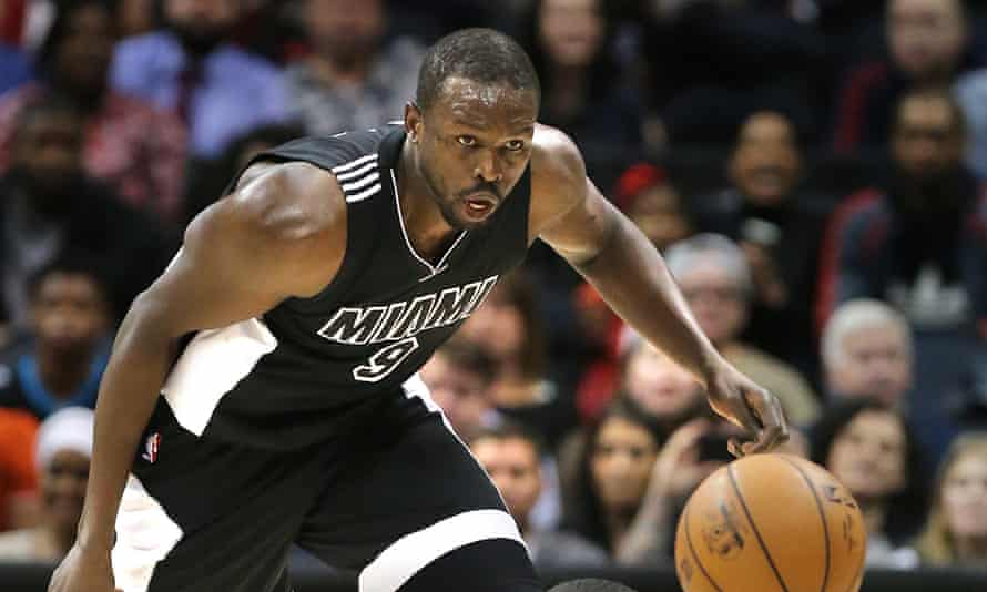 Luol Deng during a game at Philips Arena in Atlanta on 14 December.
