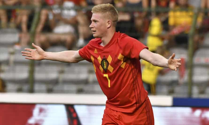 Kevin De Bruyne is set to be one of the stars of this year's World Cup