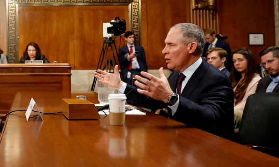 Scott Pruitt, the former chief of the Environmental Protection Agency.