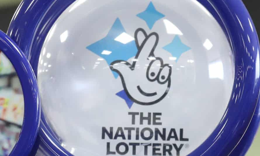 National Lottery ticket sales counter