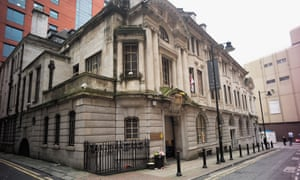 Former Manchester stock exchange building