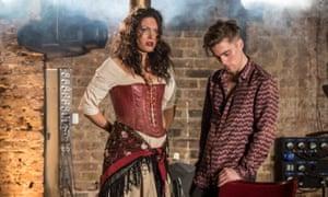 Viktoria Vizin and Jack Farthing in Carmen Disruption at the Almeida.