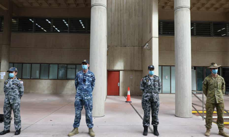ADF personnel in Sydney