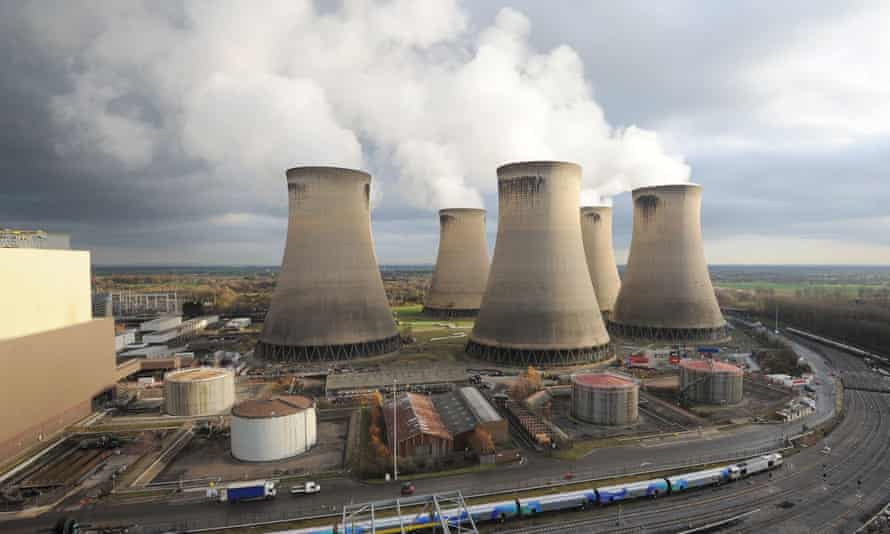 Drax's power plant in Selby, North Yorkshire