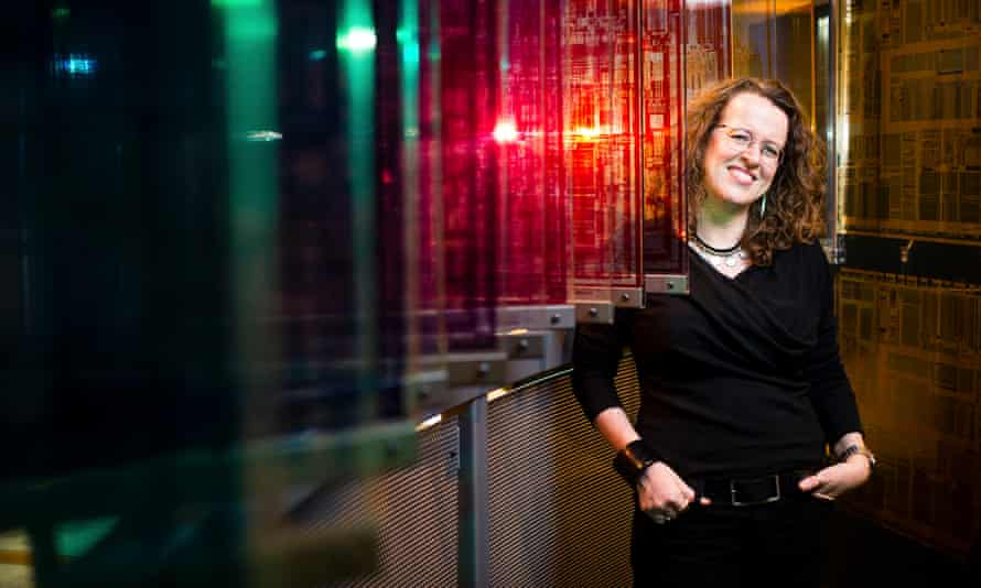 Genevieve Bell at the Intel headquarters in Oregon.
