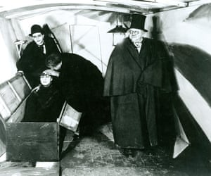 The Cabinet of Dr Caligari directed by Robert Wiene.