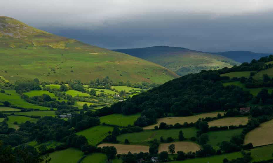 Elemental hills … the Brecon Beacons. Photograph: Alamy