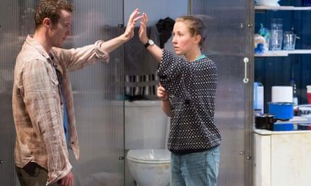 Wish fulfilment? Not here … Joseph Quinn as Dean Carmody and Erin Doherty as Tamsin Carmody in Wish List.