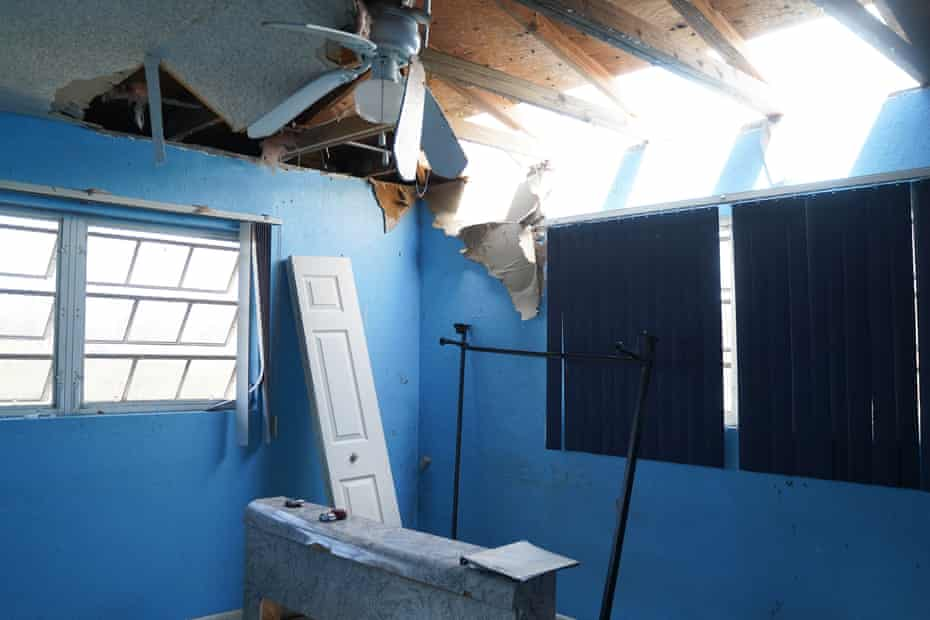 FREEPORT, BAHAMAS, SEPTEMBER, 6, 2019 Damaged house in a residence in the High Rock neighborhood in the eastern part of Grand Bahama Island. Hurricane Dorian caused considerable damages to the island of Grand Bahama especially to the eastern side. (Photo by Angel Valentin/Freelance)