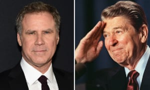 It took less than 24 hours for Will Ferrell to back out of playing President Ronald Reagan.