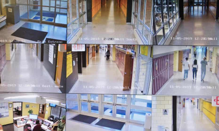 For decades, American school shootings have driven a booming school security industry.