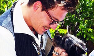 Dog lover ... Johnny Depp pet problems with the Australian government have given Twitter plenty of fodder.