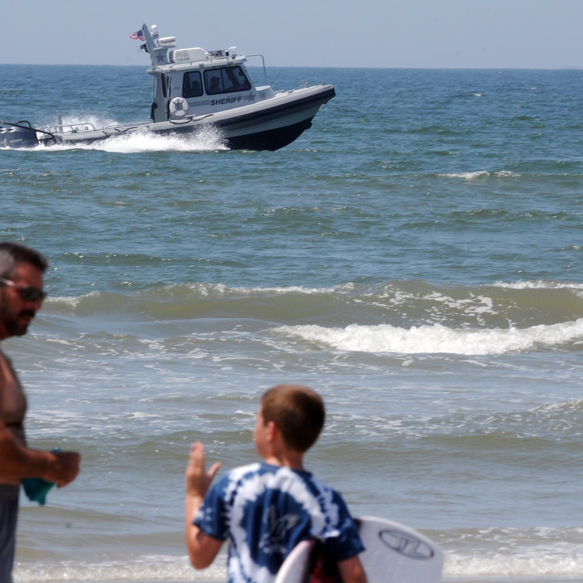 North Carolina Looking For Shark Attack Patterns Governor Says Sharks The Guardian