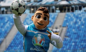 Skillzy is the official Euro 2020 mascot.