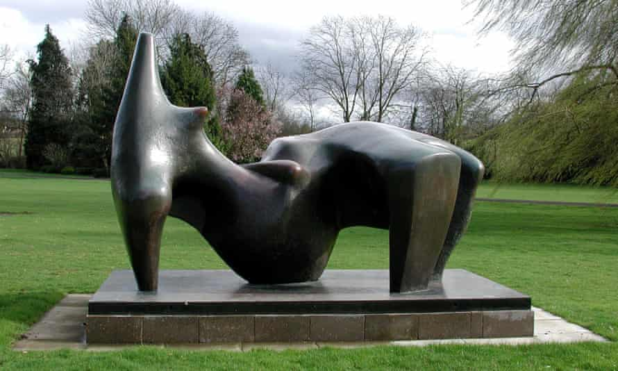 Henry Moore's Reclining Figure sculpture, worth more than £3m, stolen in December 2005.