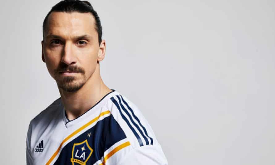 Zlatan Ibrahimovic signs for LA Galaxy.
