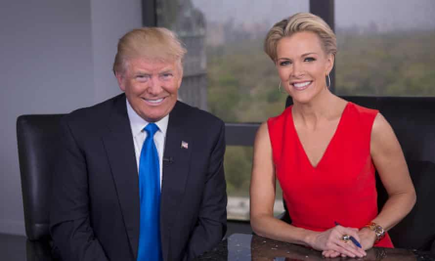All smiles for Donald Trump and Megyn Kelly at their post-truce interview.