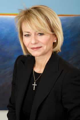 Harriet Green, former chief executive of Thomas Cook