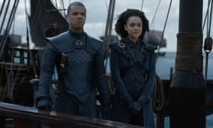 'Missed opportunity' … with Grey Worm in Game of Thrones.