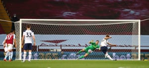 Kane scores from the penalty spot.