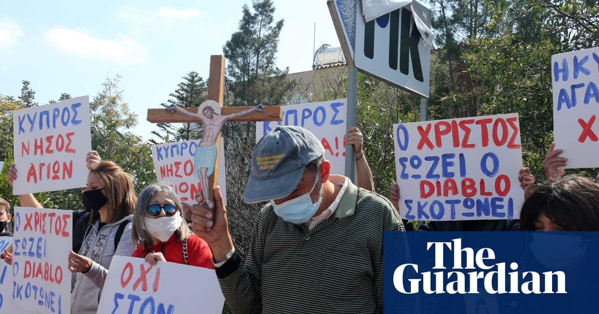Protesters demand withdrawal of Cyprus' 'satanic' Eurovision entry