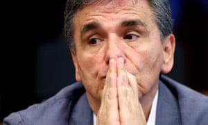 Greek Finance Minister Tsakalotos