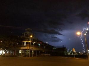 Lightening in Roma, Queensland