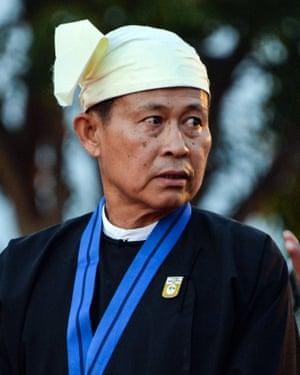 Myanmar's Vice-Senior General Soe Win
