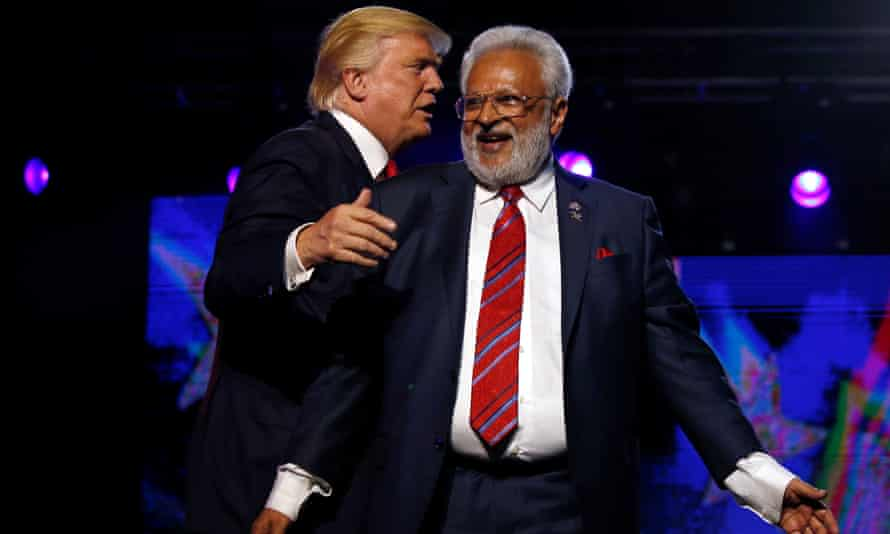 Trump with Shalli Kumar