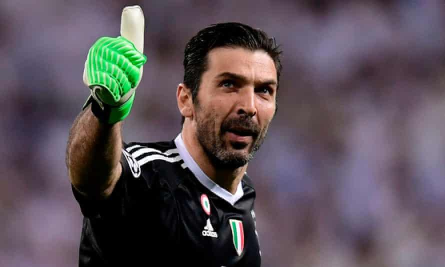 Gianluigi Buffon has left the door open to continue his playing career.