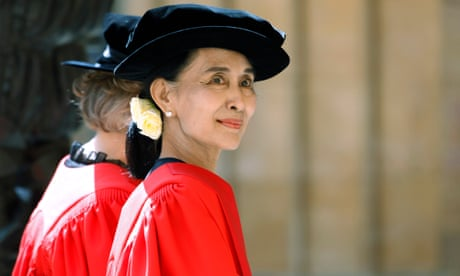 Aung San Suu Kyi to be stripped of Freedom of the City of Oxford