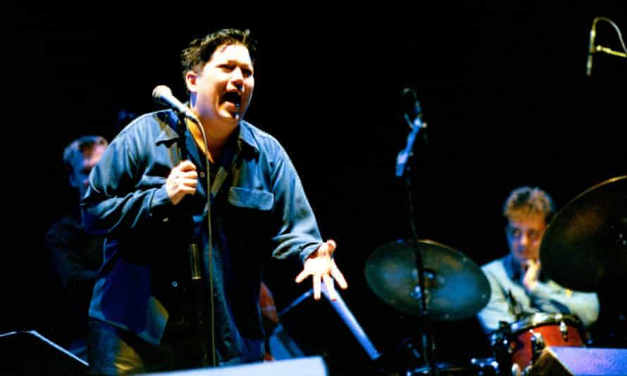 Lea DeLaria performing in 2001.
