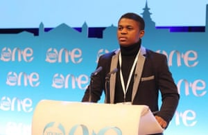 Edgar Edmund, One Young World ambassador and founder of Green Venture Recycles.