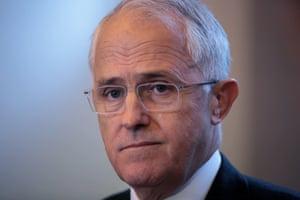 Prime Minister Malcolm Turnbull during a visit to Design Centre Tasmania
