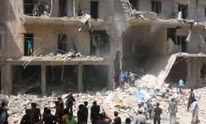Aleppo was Syria's commercial hub before its streets were pounded to rubble.