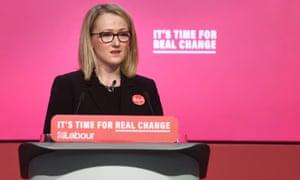 Labour leadership contender Rebecca Long-Bailey