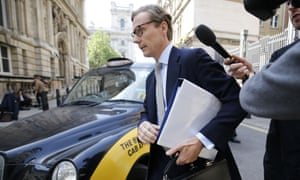 Alexander Nix, former boss of Cambridge Analytica.