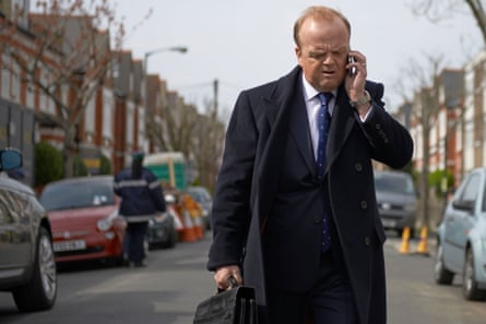 Toby Jones in the TV adaptation of Capital.