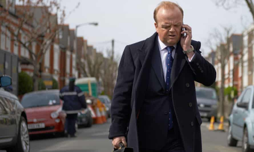 Toby Jones as Roger in the BBC adaptation of John Lanchester's Capital.