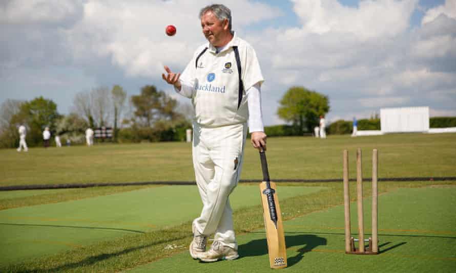 Mark Le-Clercq, the chairman of Hambledon Cricket Club.