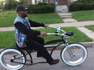 Bo, president and co-founder of Grown Men On Bikes (GMOB)