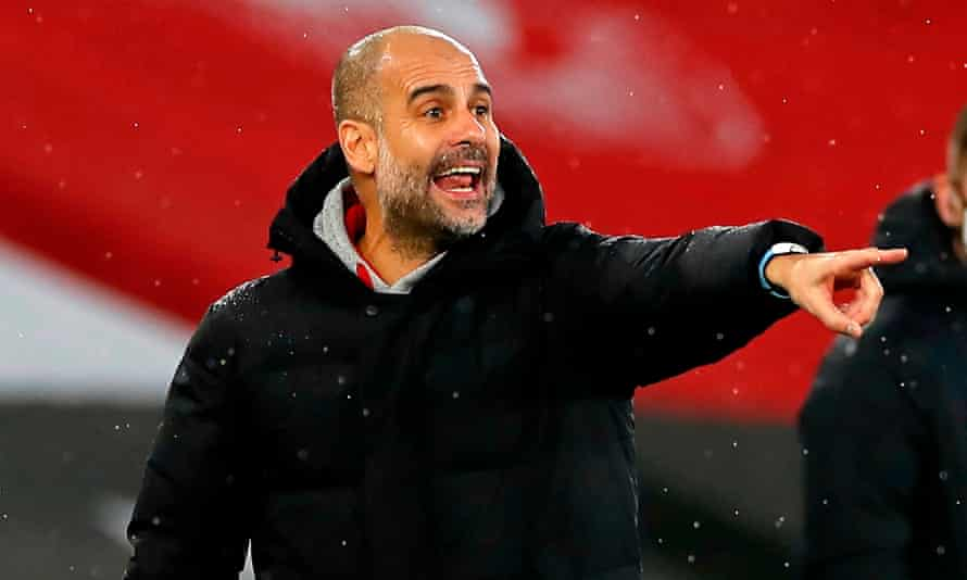Pep Guardiola's Manchester City are known for their attacking flair but have conceded the fewest goals in the Premier League season.
