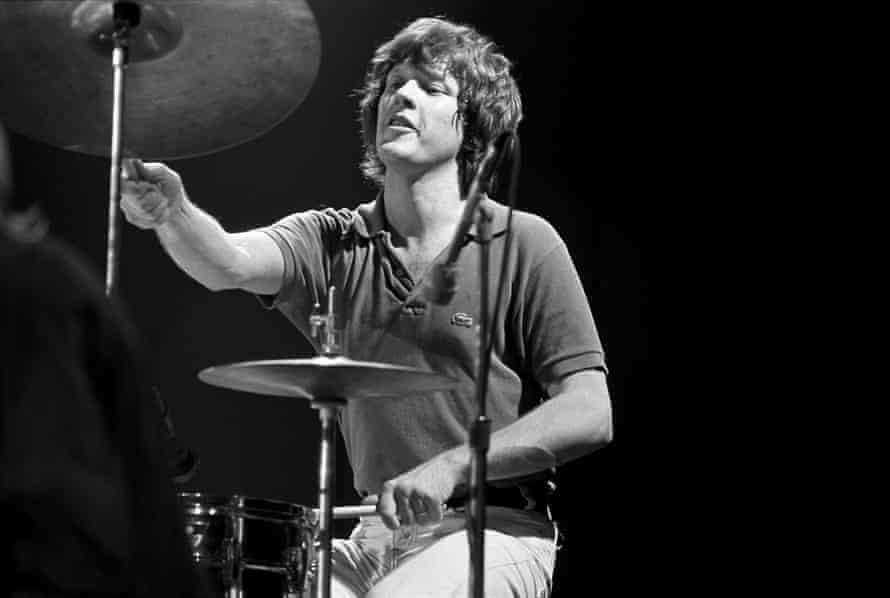 Chris Frantz in 1978
