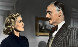 It's murder most foul for Grace Kelly and John Williams in Hitchcock's thriller