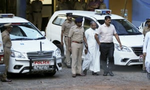 Indian bishop Franco Mulakkal was questioned by police in September over allegations he raped a nun, something he denies.