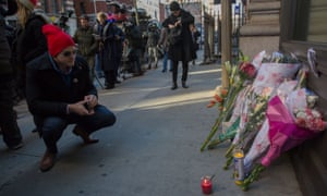 Tribute at David Bowie's New York home