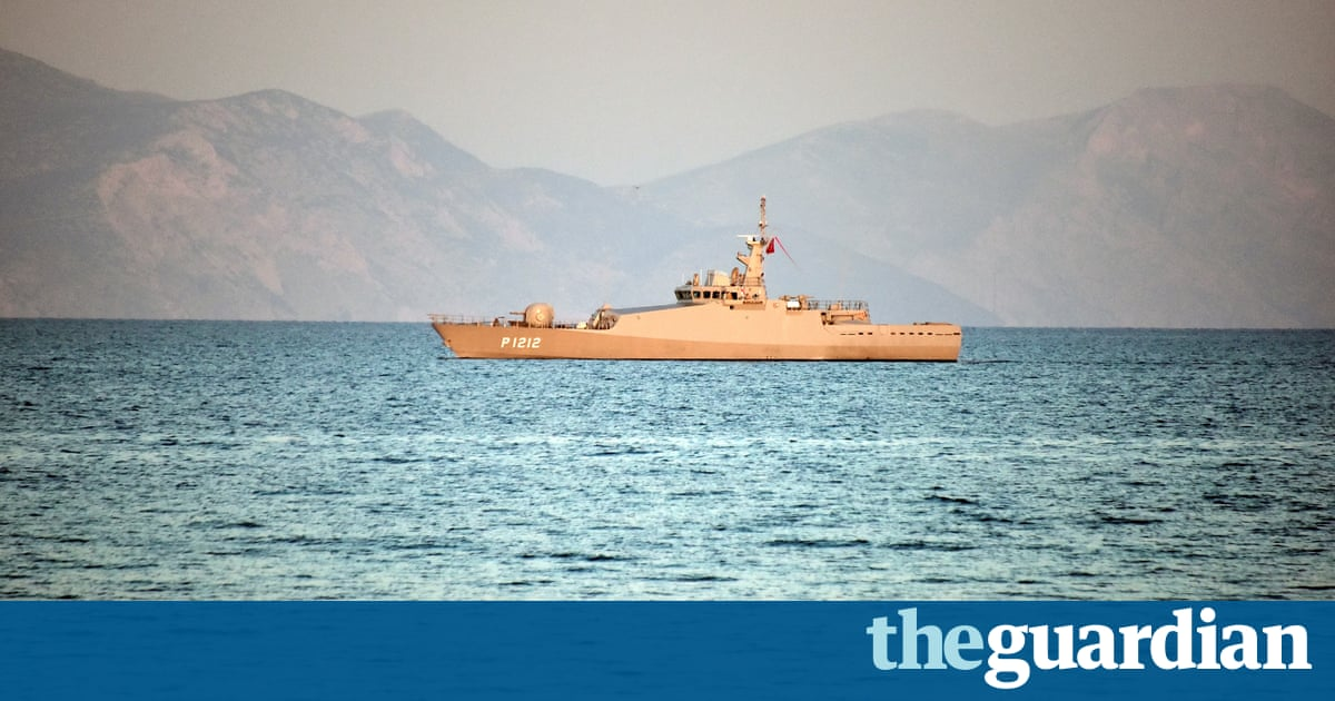 Greek and Turkish warships in standoff in Aegean sea